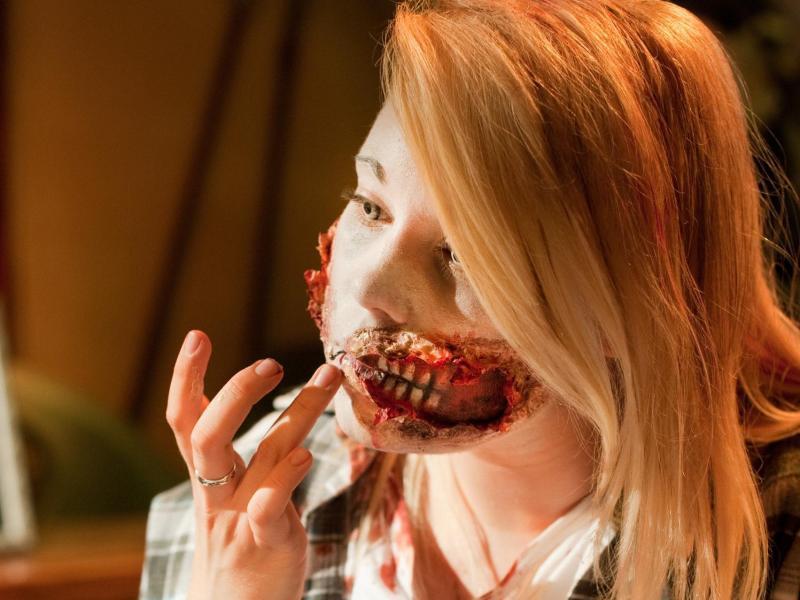 Bild zu Horror-Make-up