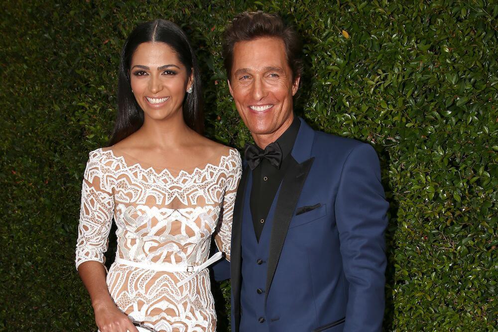 Bild zu Matthew McConaughey und Camila Alves bei einer Veranstaltung in Los Angeles