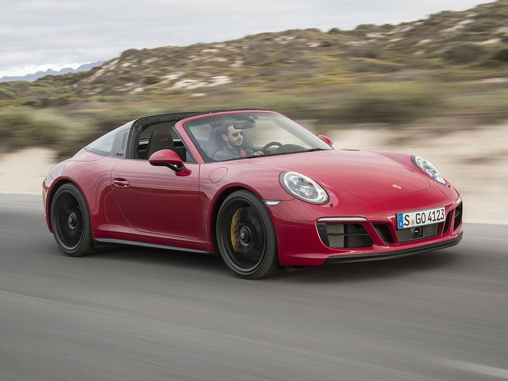 Bild zu Platz 2 Sportwagen: Porsche 911