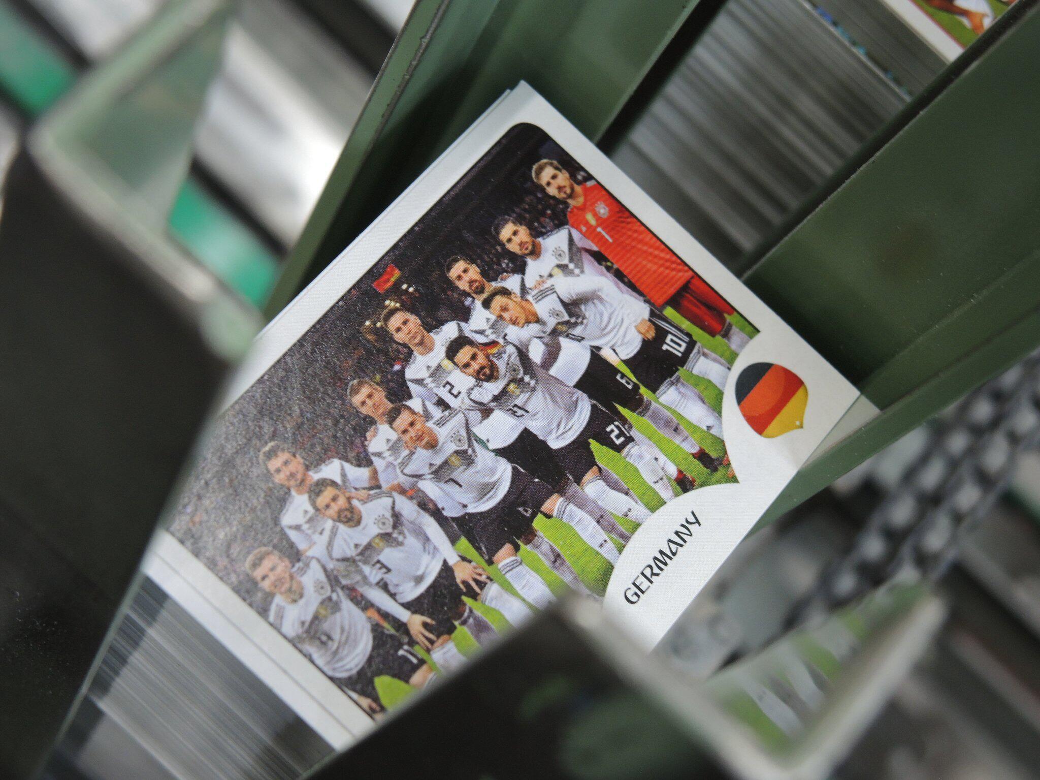Bild zu Panini-Sammelalbum zur WM in Russland