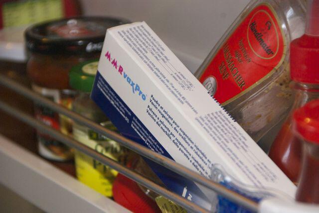 Bild zu Impfstoff im Kühlschrank