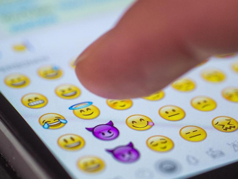 Bild zu iOS-Emojis