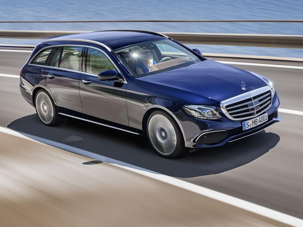 Bild zu Obere Mittelklasse: Platz 2 - Mercedes-Benz E-Klasse