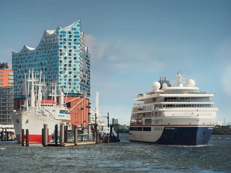 Bild zu Expeditionsschiff «Hanseatic nature»