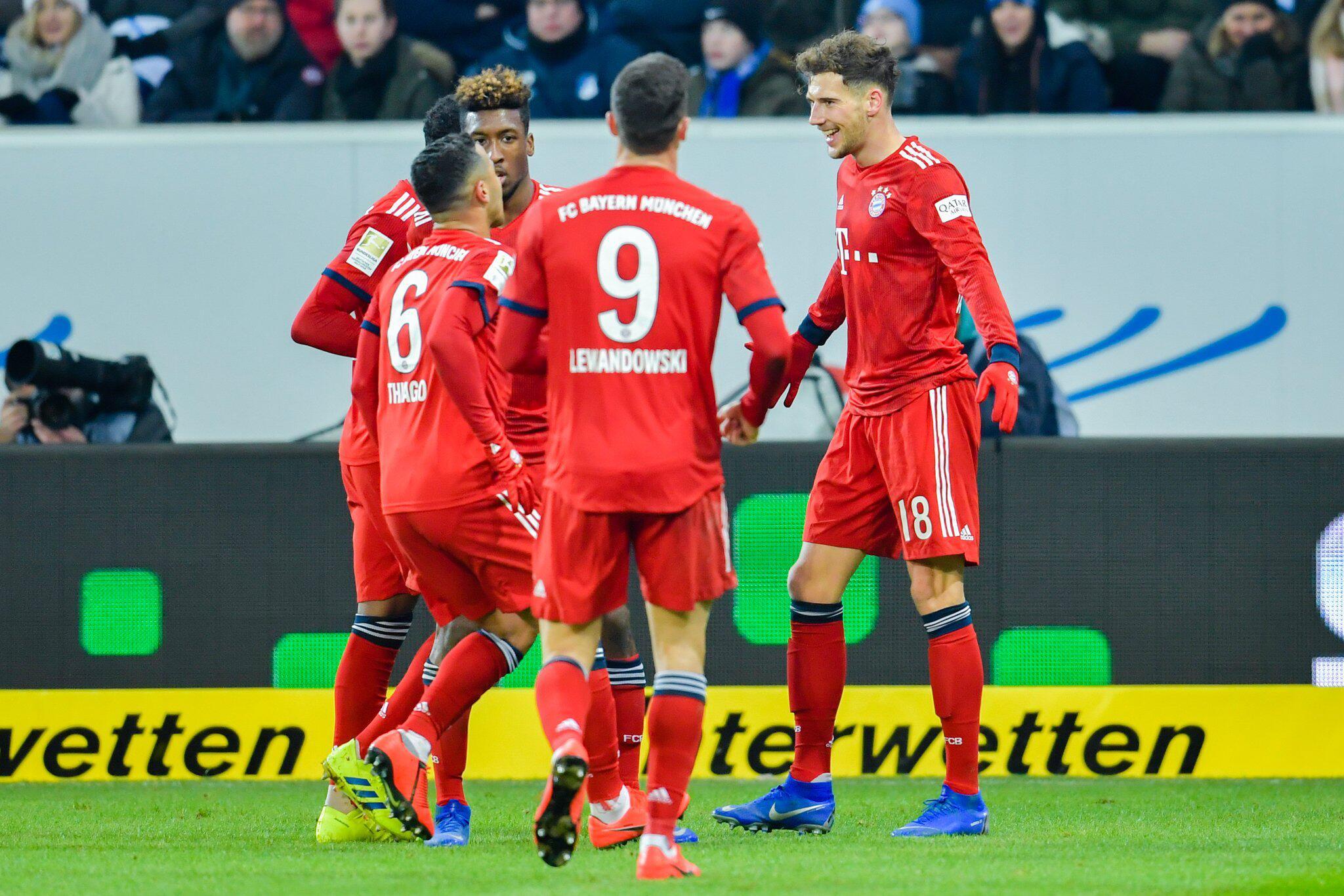 Bild zu 1899 Hoffenheim - Bayern München