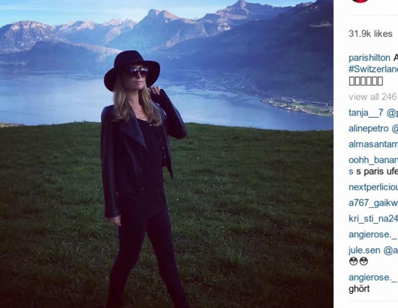 Bild zu Paris Hilton ist wieder solo