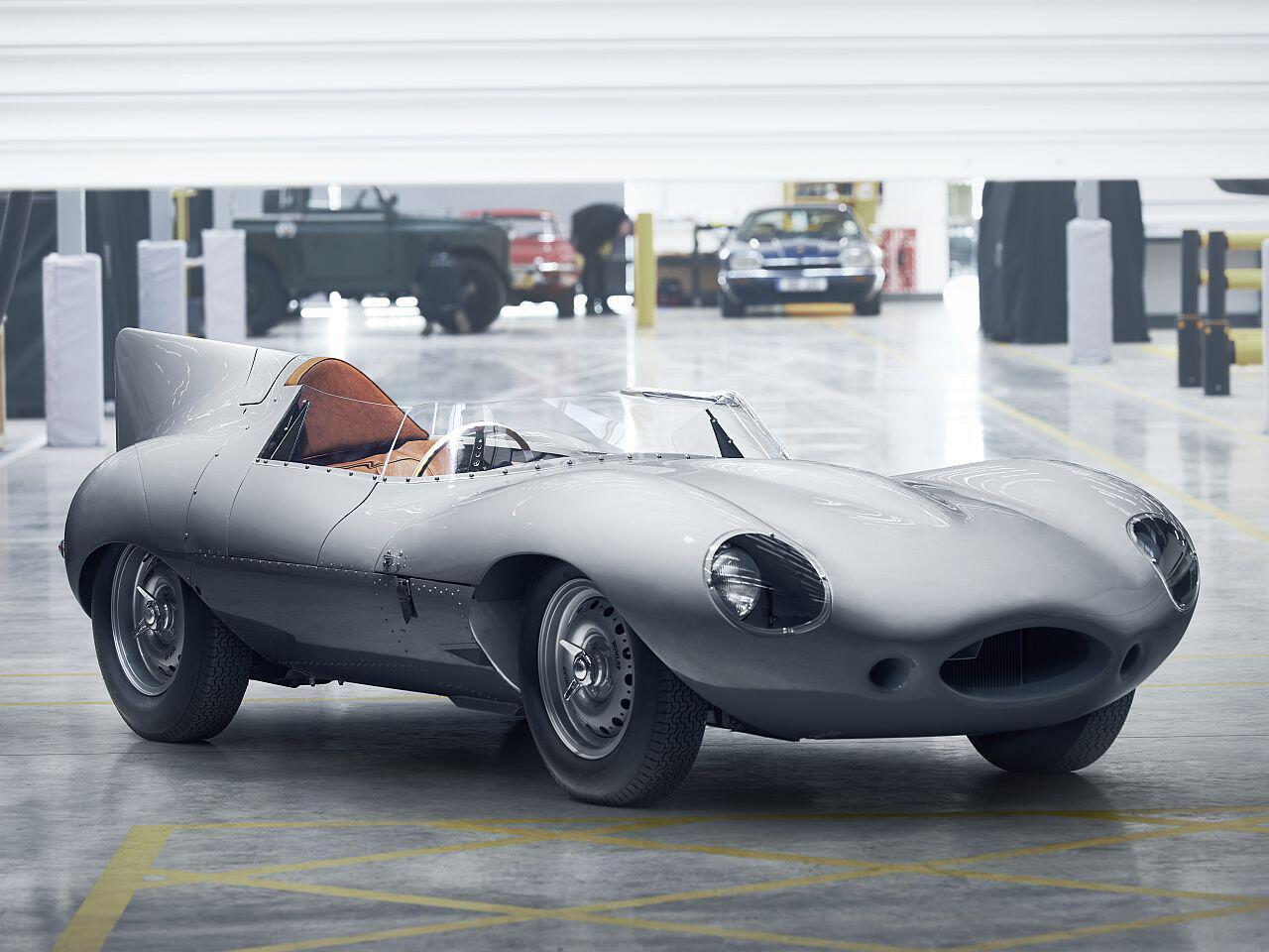 Bild zu Jaguar XKSS als Vorbild