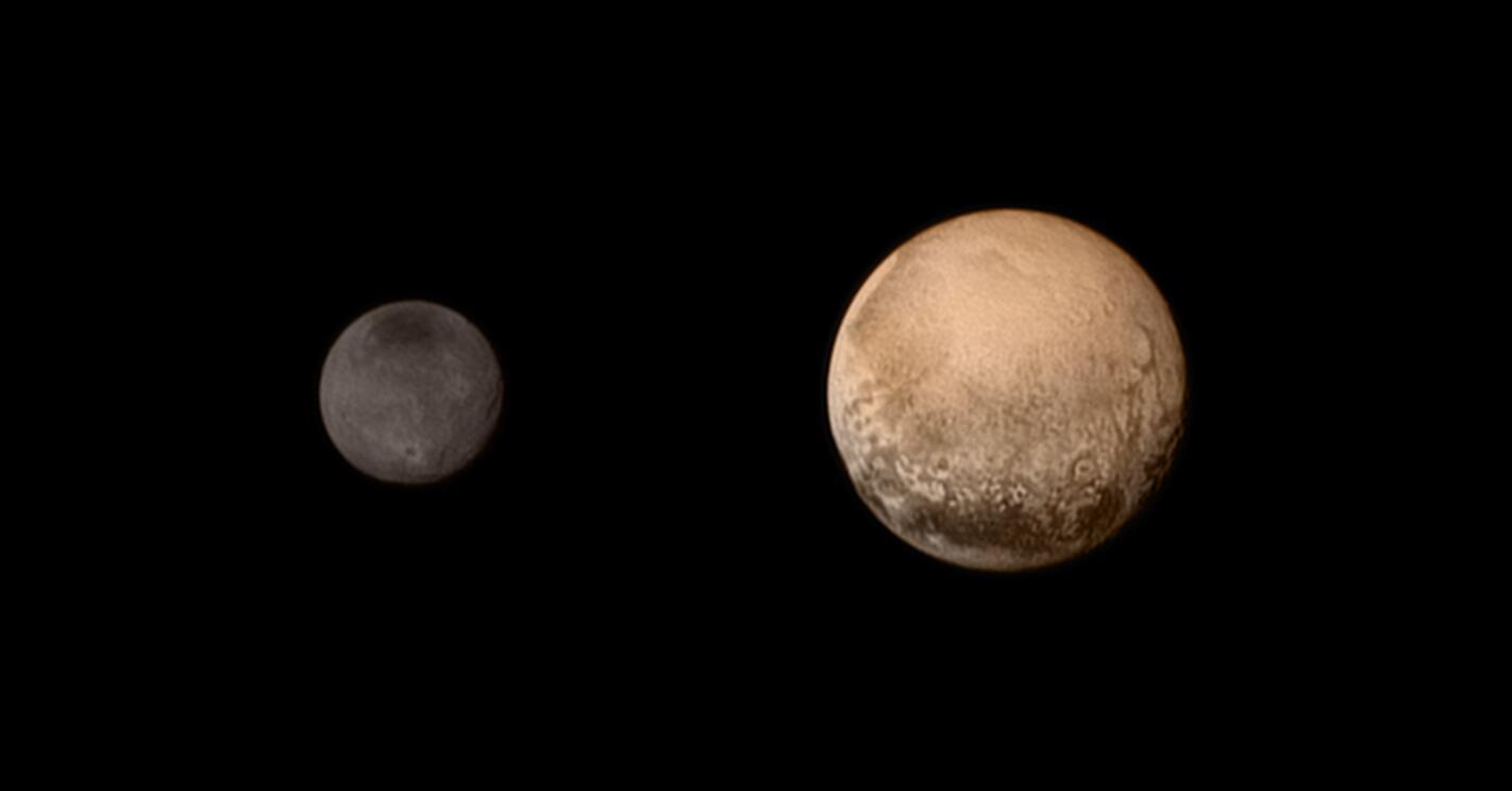 Bild zu Charon und Pluto