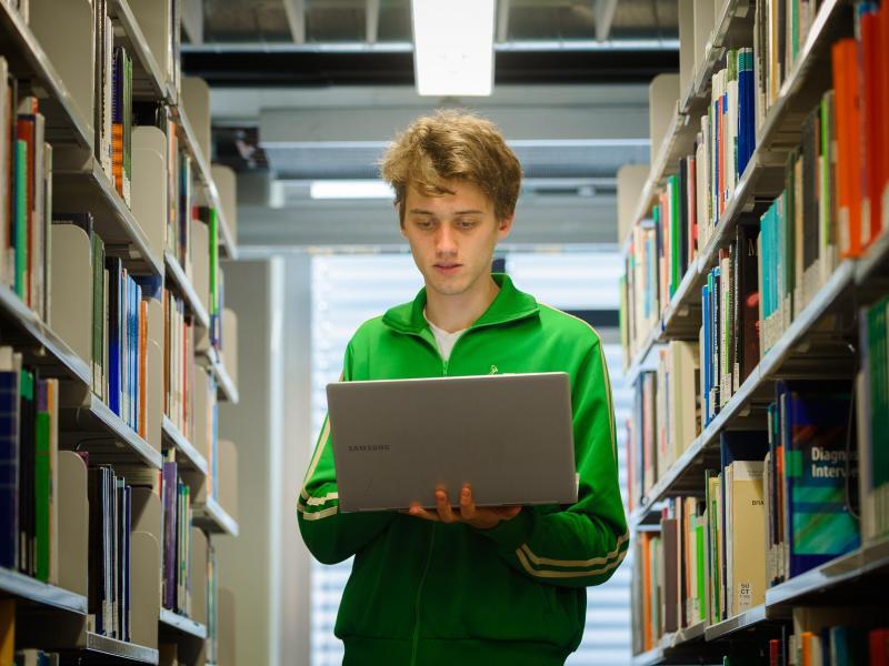 Bild zu Literatur im Netz
