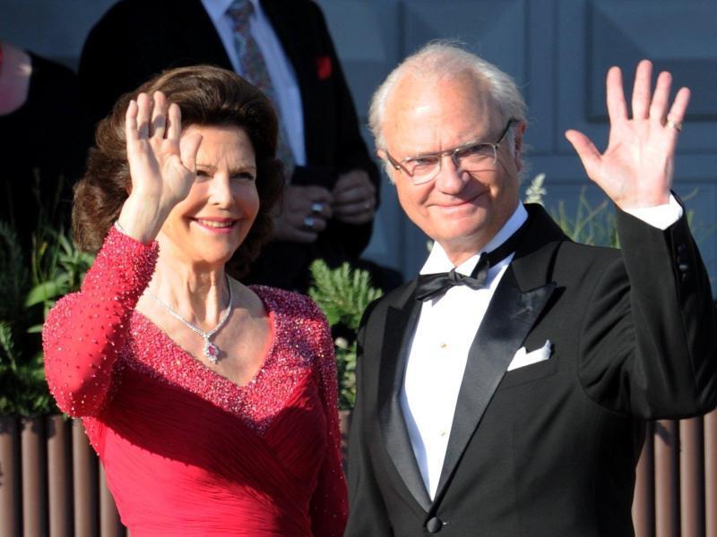 Bild zu Schwedens Königspaar Carl XVI. Gustaf und Silvia