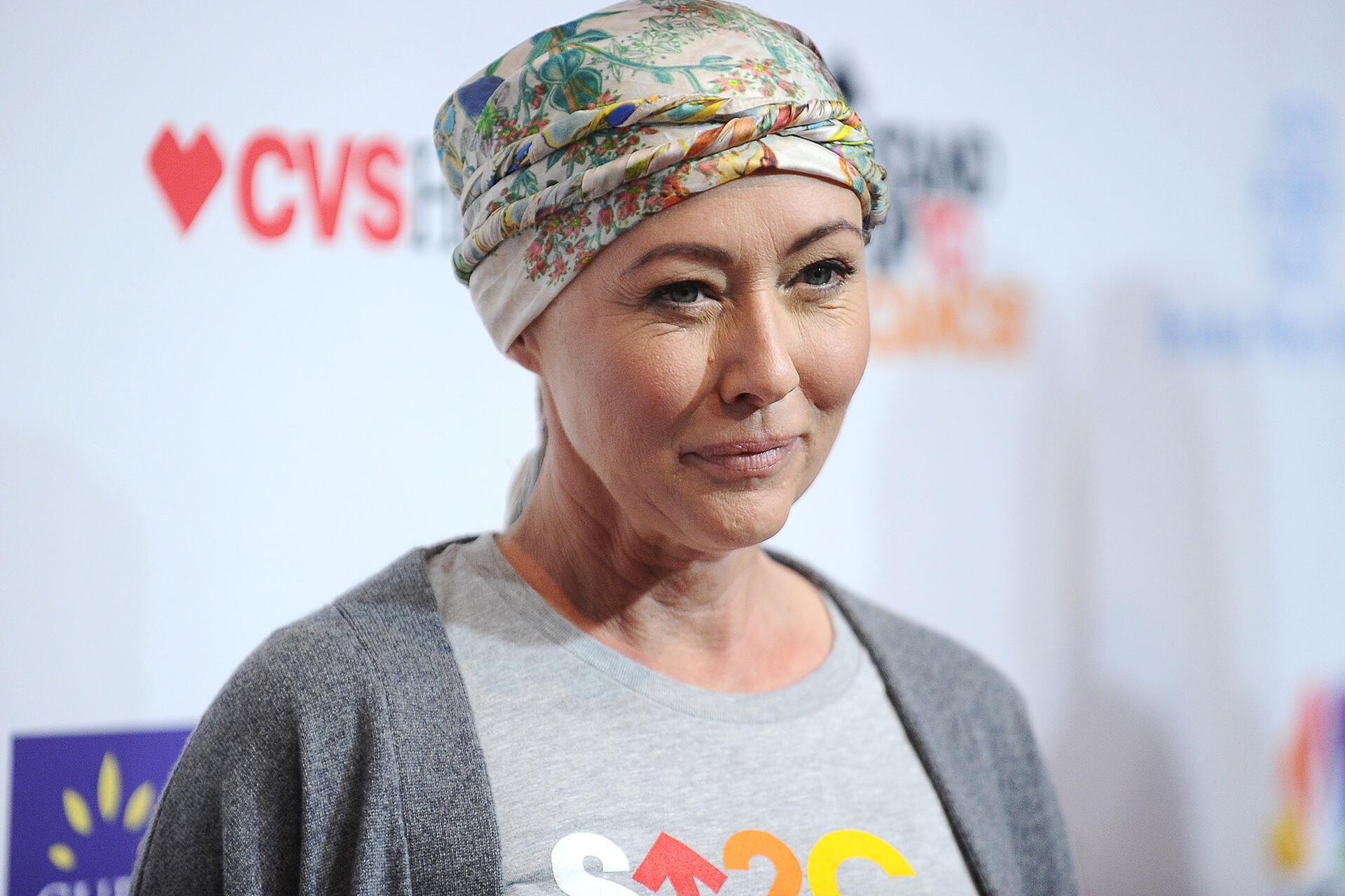 Bild zu Shannen Doherty, Krebs, Chemotherapie