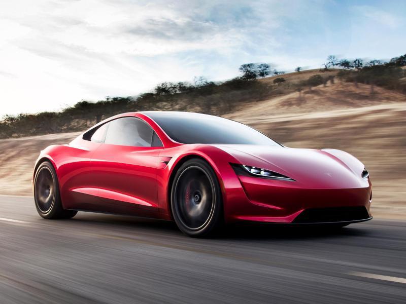 Bild zu Roadster von Tesla