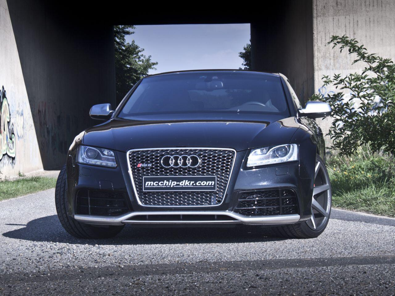 Bild zu Leistungsspritze für den Audi RS5: Mcchip-dkr verleiht dem Topmodell mehr Power