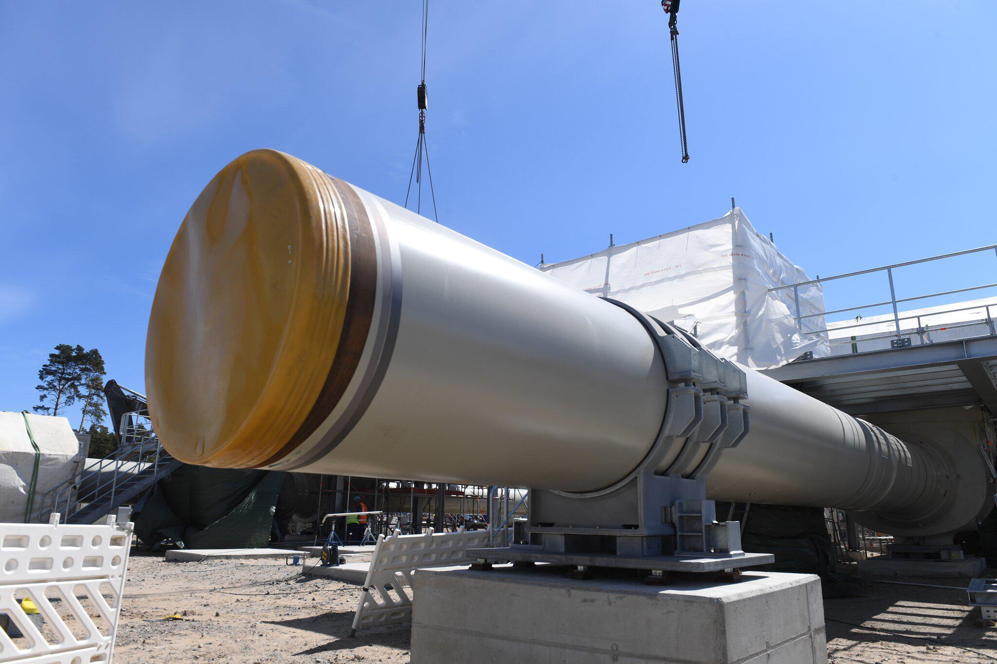 Bild zu Nord Stream 2 Gas Pipeline