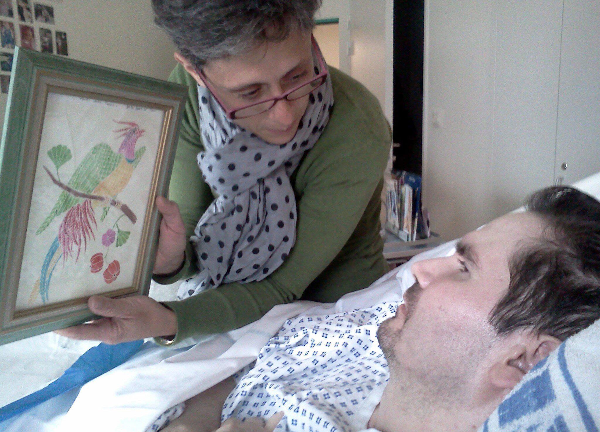 Bild zu Wachkoma-Patient Vincent Lambert