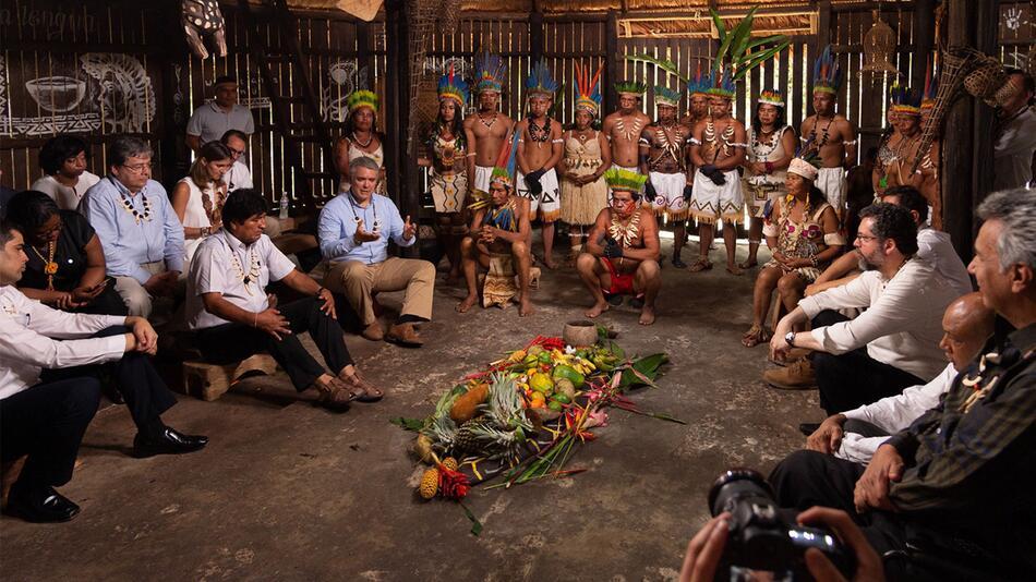 Amazonas-Länder beraten über Umwelt- und Entwicklungspolitik