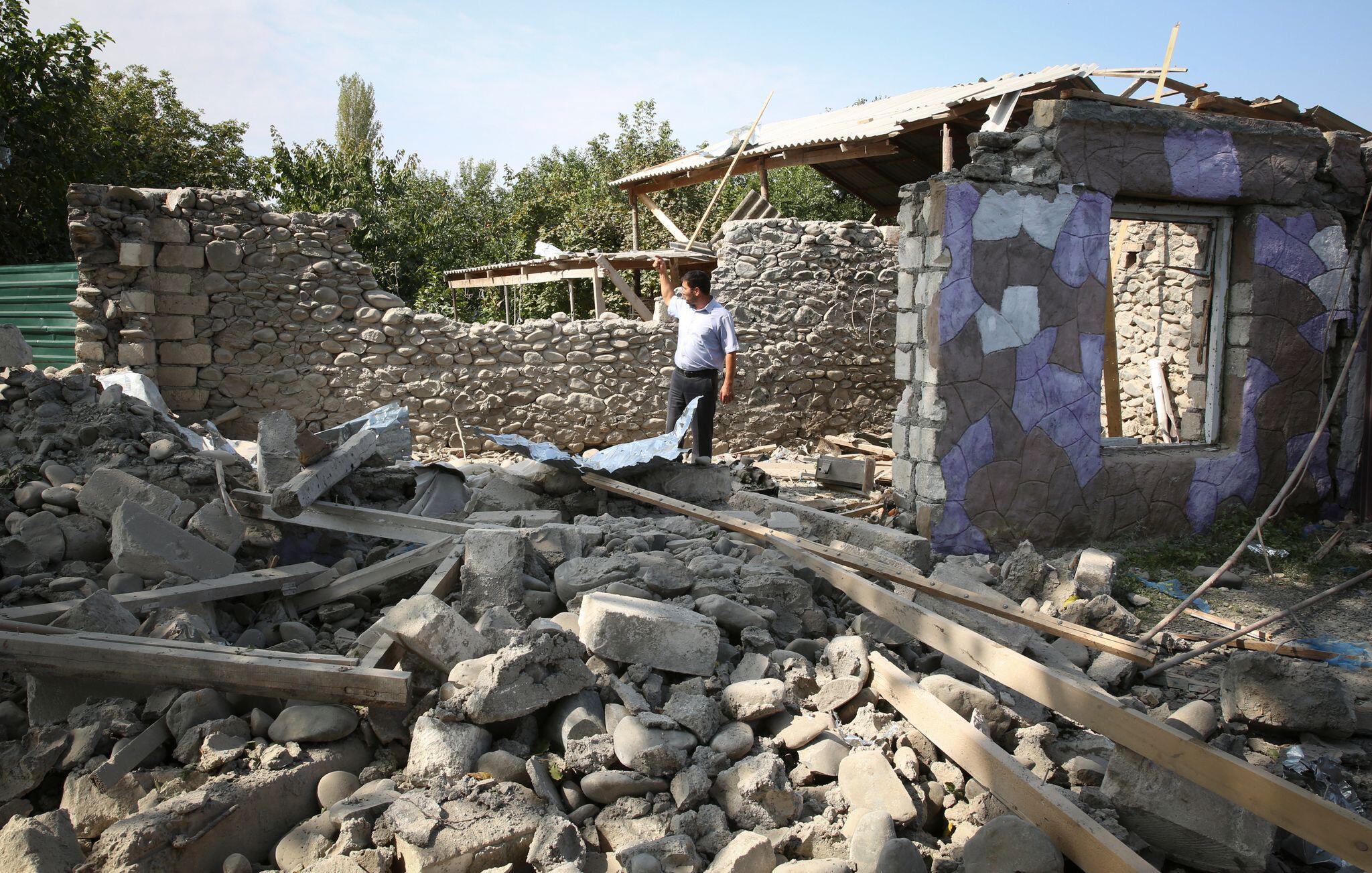 Bergkarabach-Konflikt: Armenien erklärt sich zu Waffenstillstandsgesprächen bereit