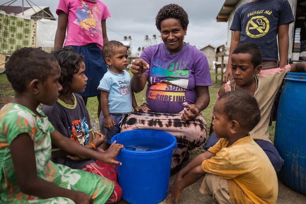 UNICEF Wasserreinigungstabletten, UNICEF Nothilfe
