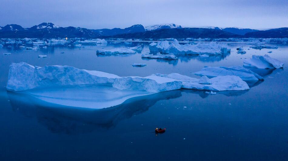 Rekordeisverlust in Grönland