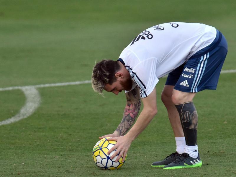 Lionel Messi Gewicht
