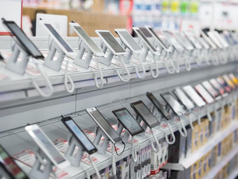 Bild zu Tablets im Elektrohandel