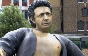 Jeff Goldblum, Statue,