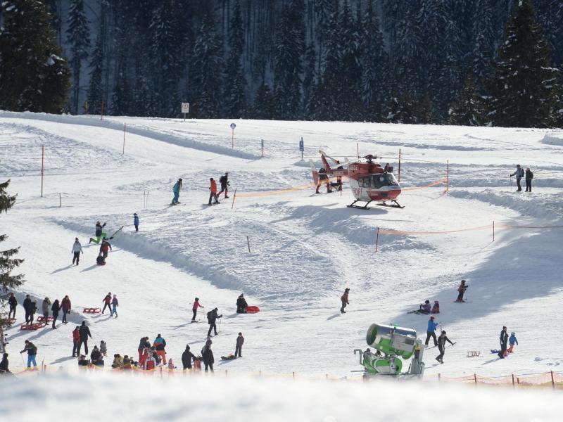 Bild zu Zwei Tote bei Skiunfall