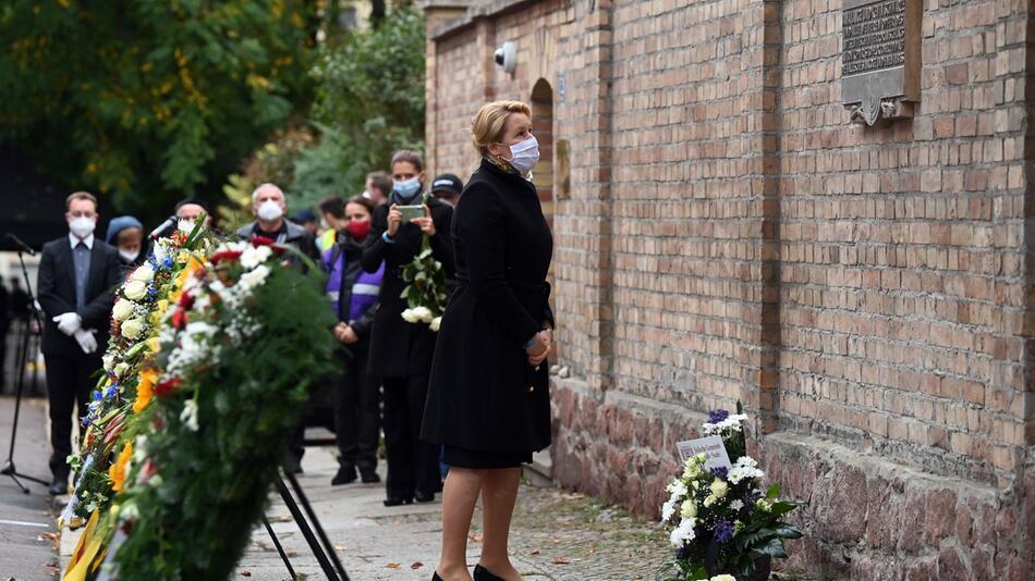 Gedenken an die Opfer des Anschlags von Halle 2019