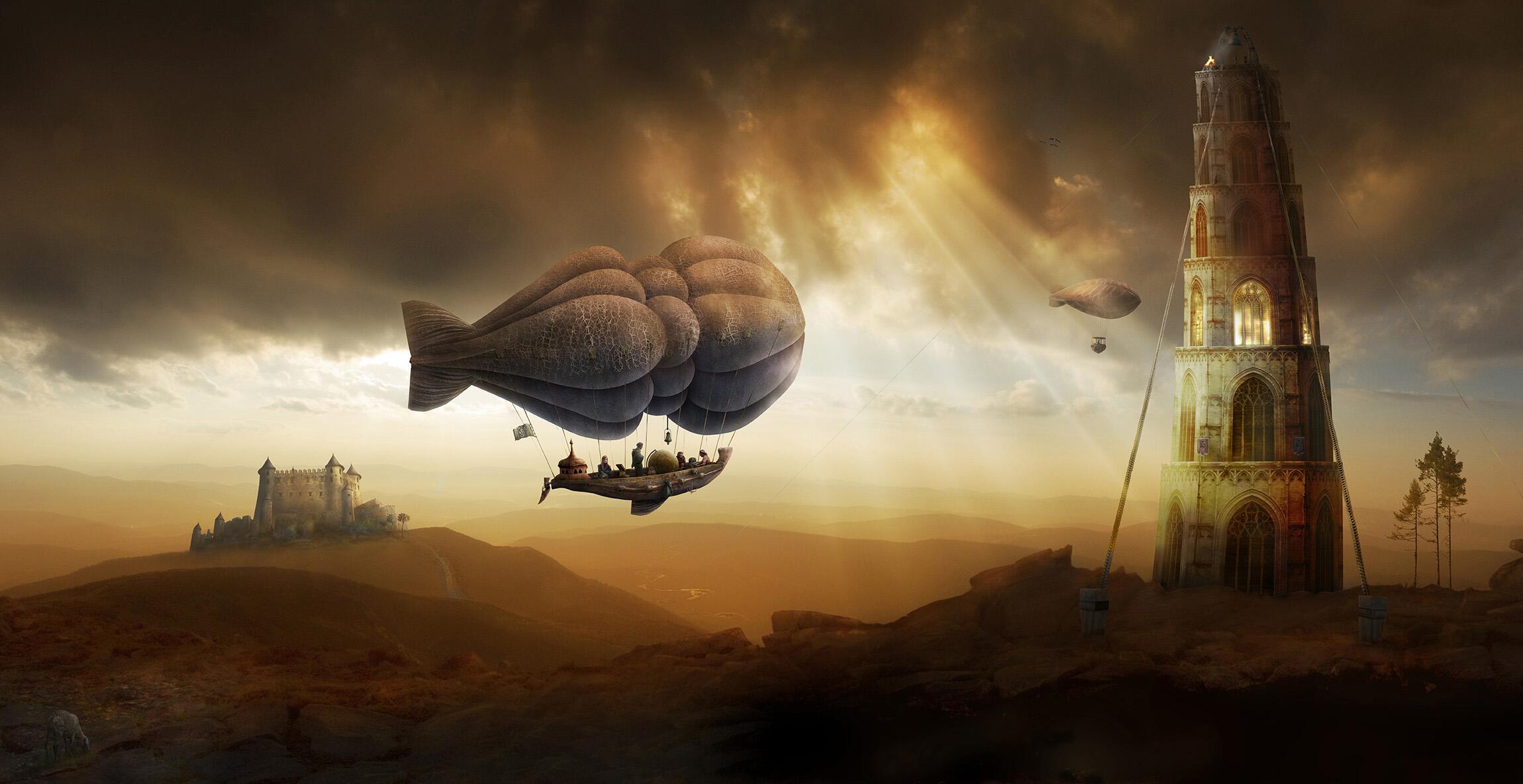 Bild zu Ballon-Ausflug