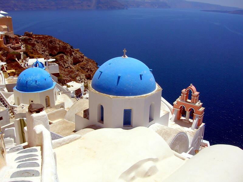 Bild zu Platz 5: Santorin (Griechenland)