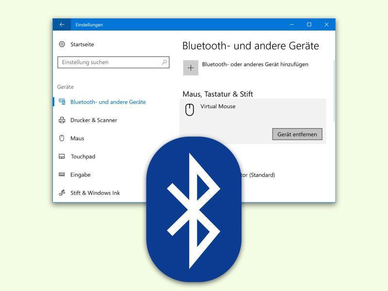 Bild zu Daten über Bluetooth austauschen