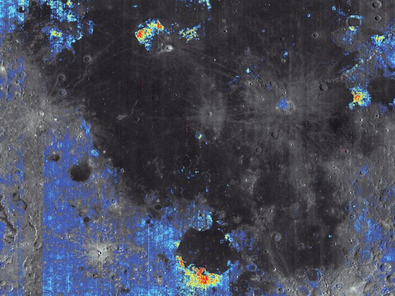 Bild zu Wasser auf dem Mond