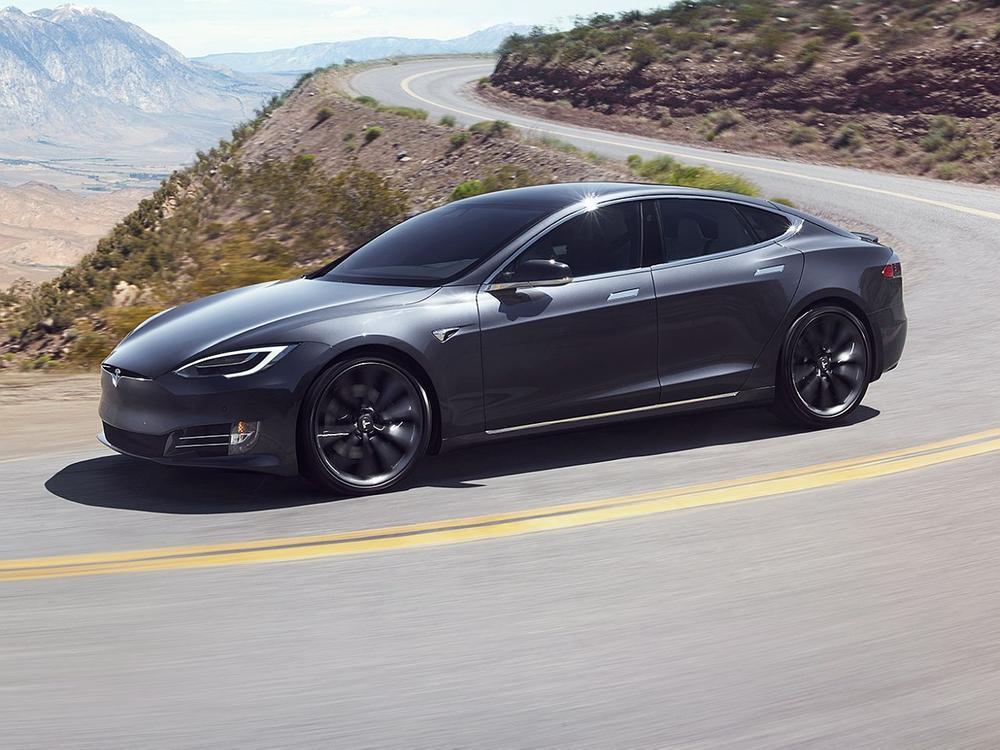 Bild zu Platz 4: Tesla Model S