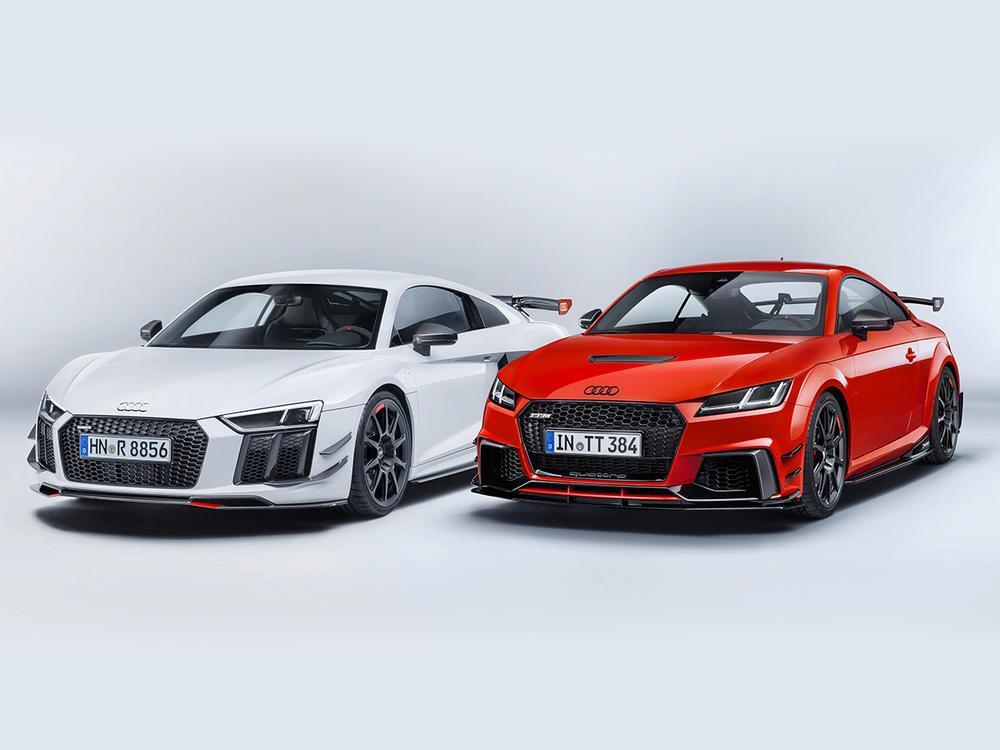 Bild zu Audi R8 und Audi TT mit Audi Sport Performance Parts