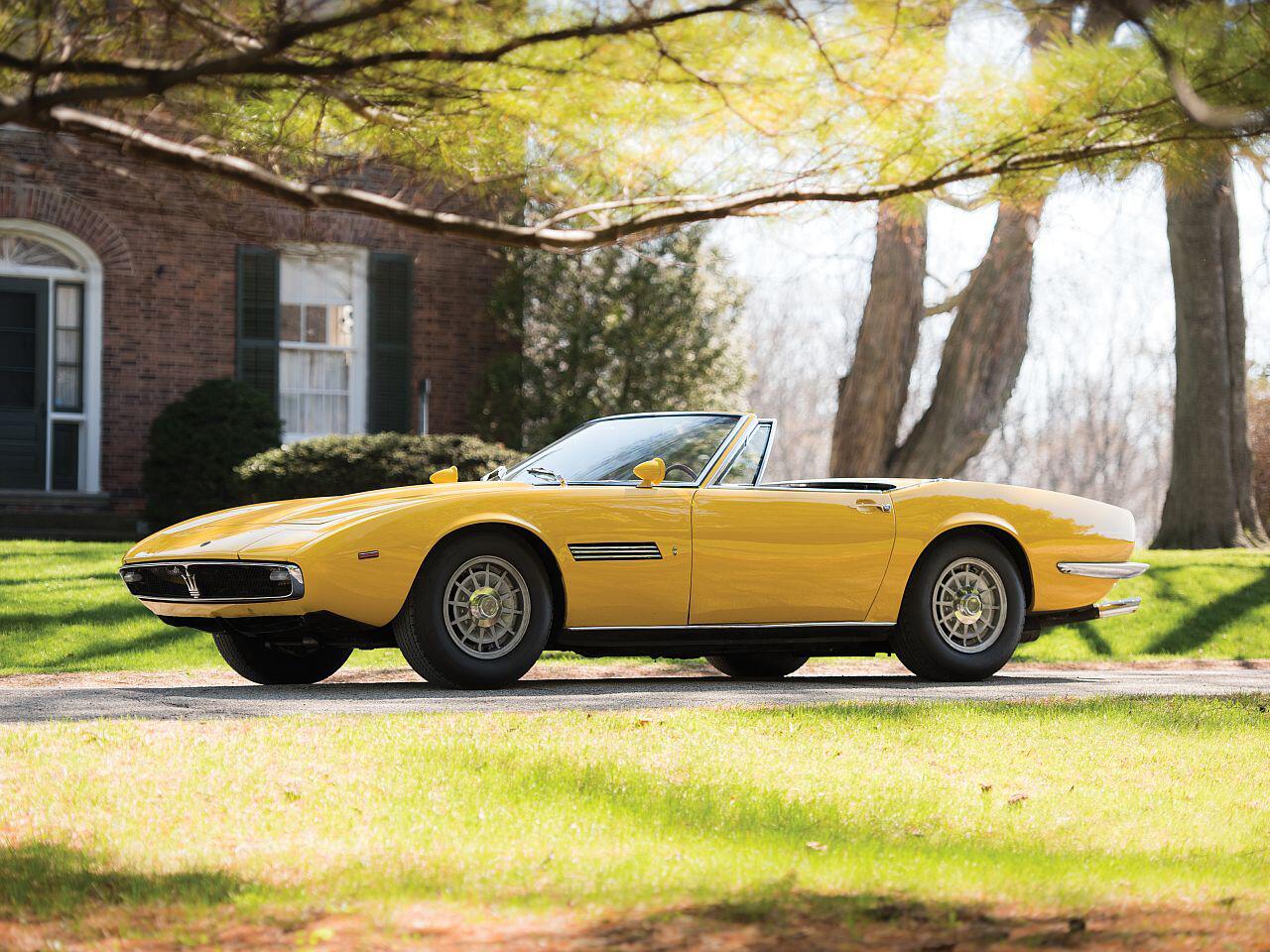 Bild zu 1968 Maserati Ghibli Spyder Prototype by Ghia