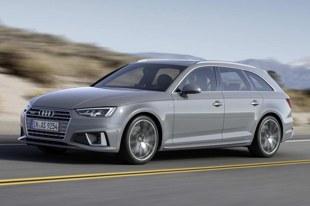 Audi Spendiert Der A4 Limousine Und Dem A4 Avant Ein Facelift Webde