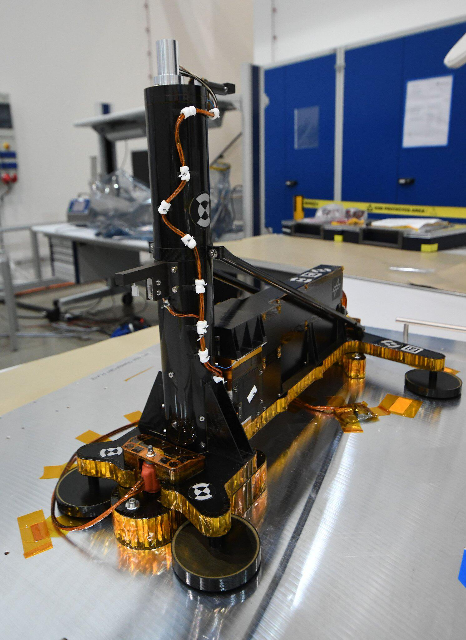 "Bild zu Mars probe ""HP3"