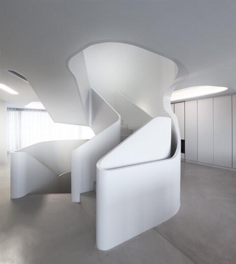 Sechs ausgefallene Treppen