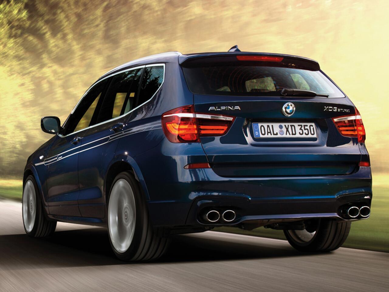 Bild zu BMW Alpina XD3 Bi-Turbo All-Wheel-Drive