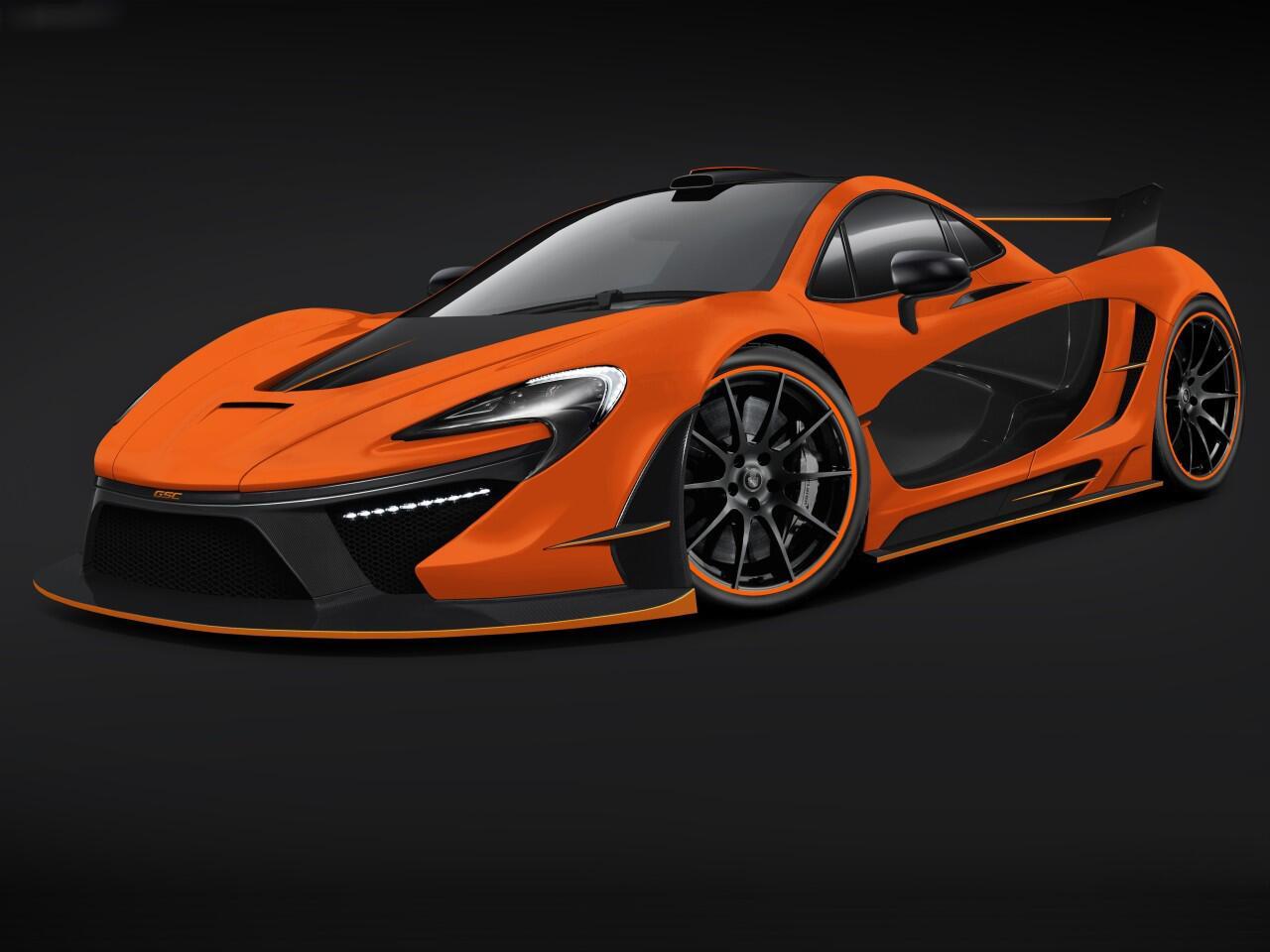 """Bild zu McLaren P1 """"Night Glow"""": Tuning-Projekt von GSC"""
