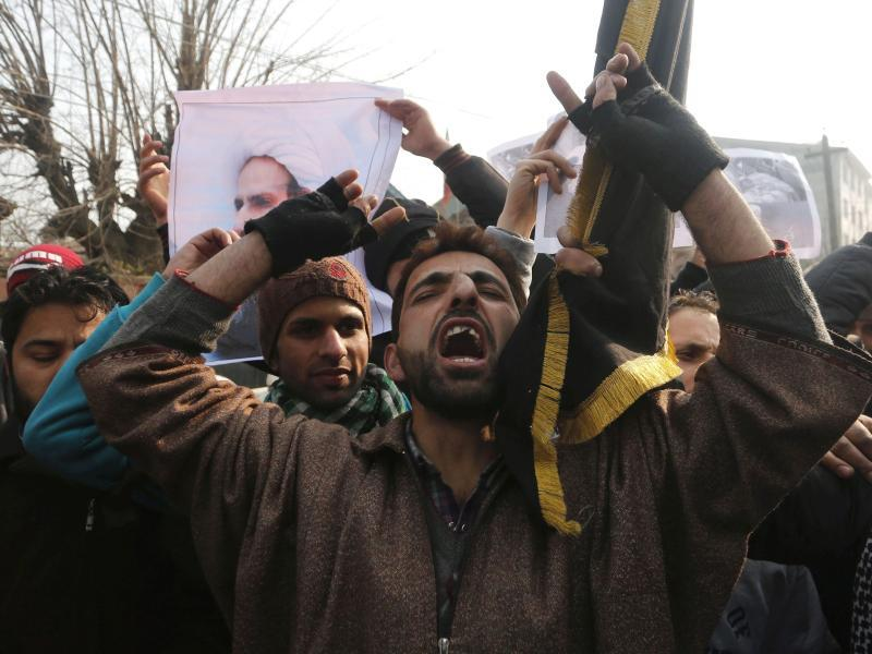 Bild zu Protest in Kaschmir