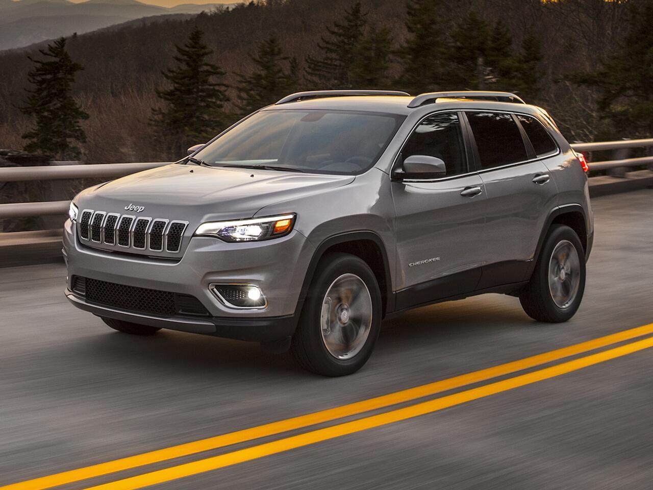Bild zu Jeep Cherokee Facelift 2018