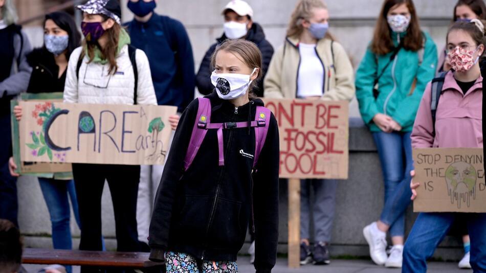 Klimastreik in Stockholm