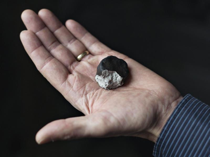 Bild zu Meteoritenteil