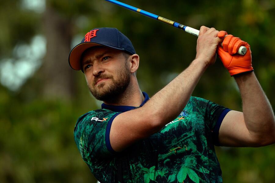 Bild zu Justin Timberlake geht gerne golfen