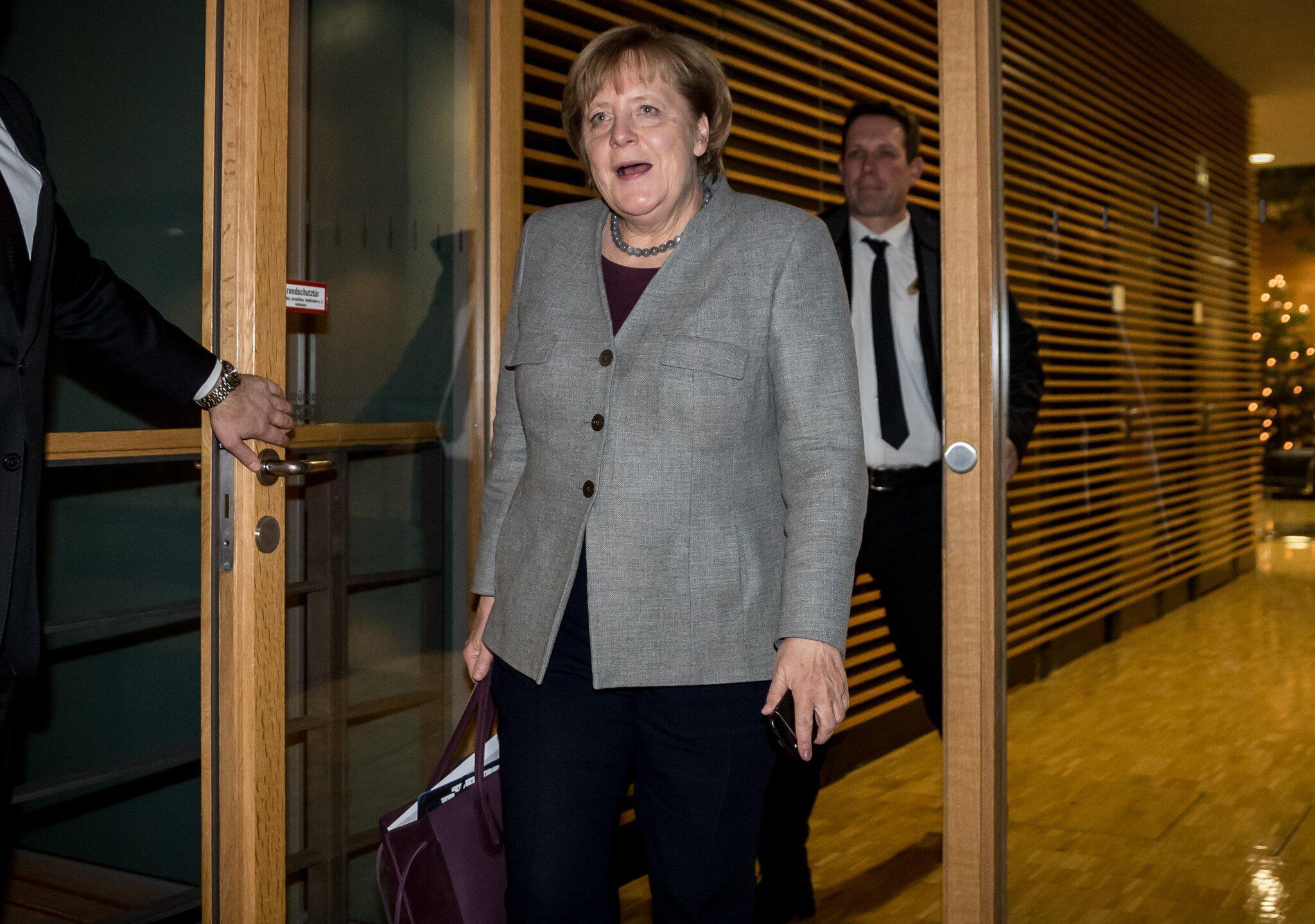 Bild zu Spitzentreffen Union und SPD