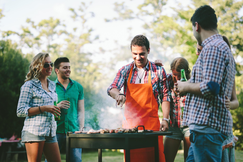 Bild zu grillen, Technik, Grill, Männer, Technologie, Thermometer, fleisch, smart home