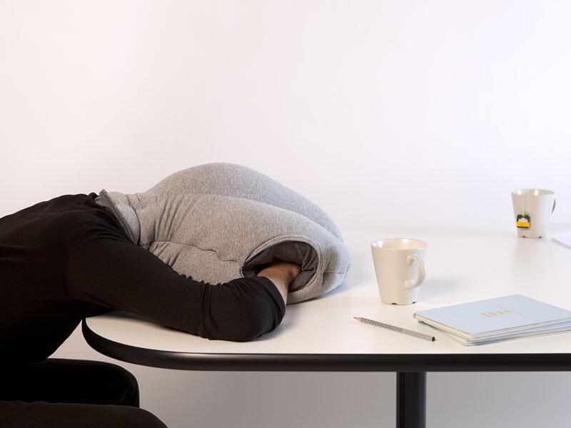 """Bild zu Schreibtisch-Schlafsack """"Ostrich"""""""