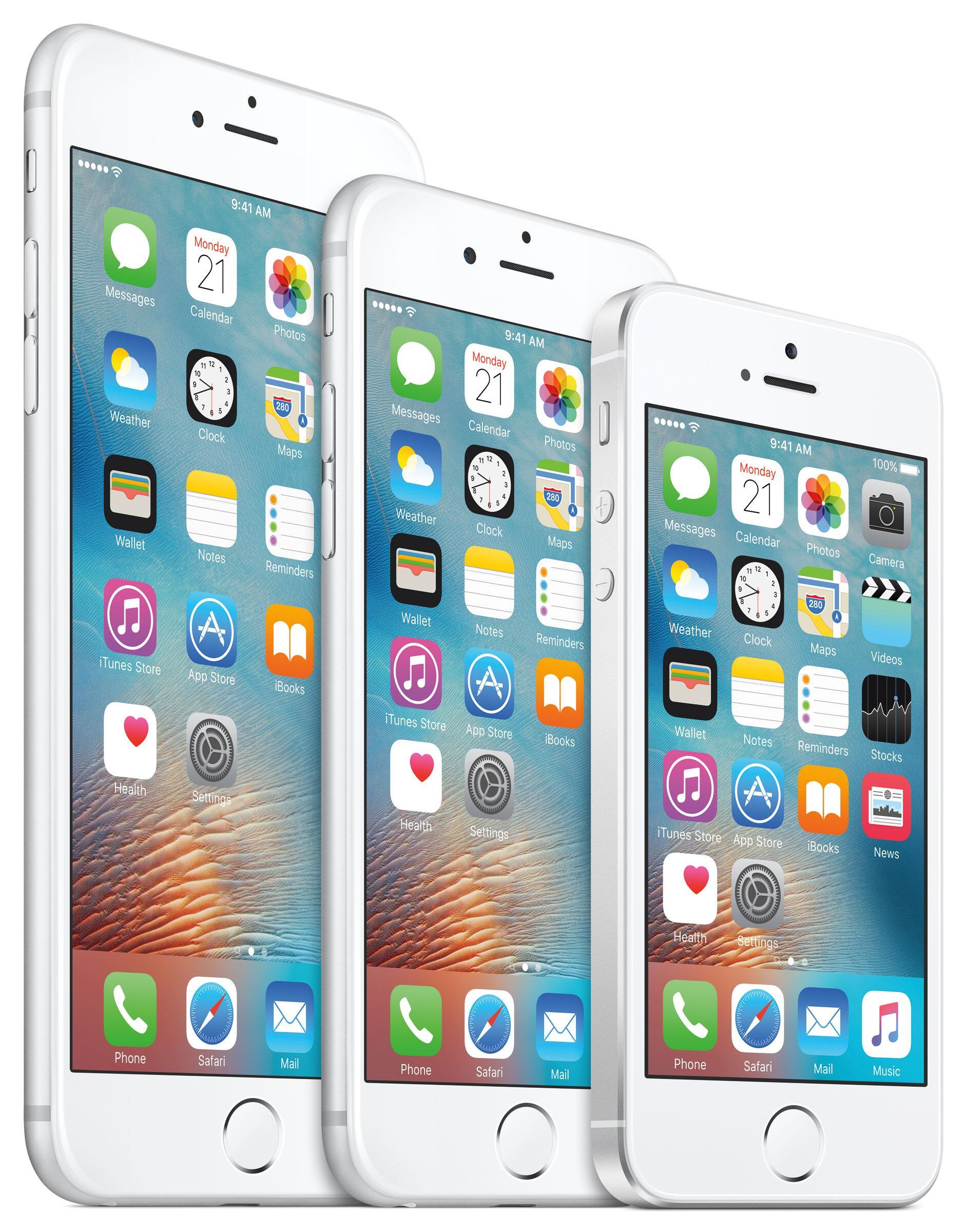 Bild zu iPhone 6s plus, iPhone 6s, iPhone SE