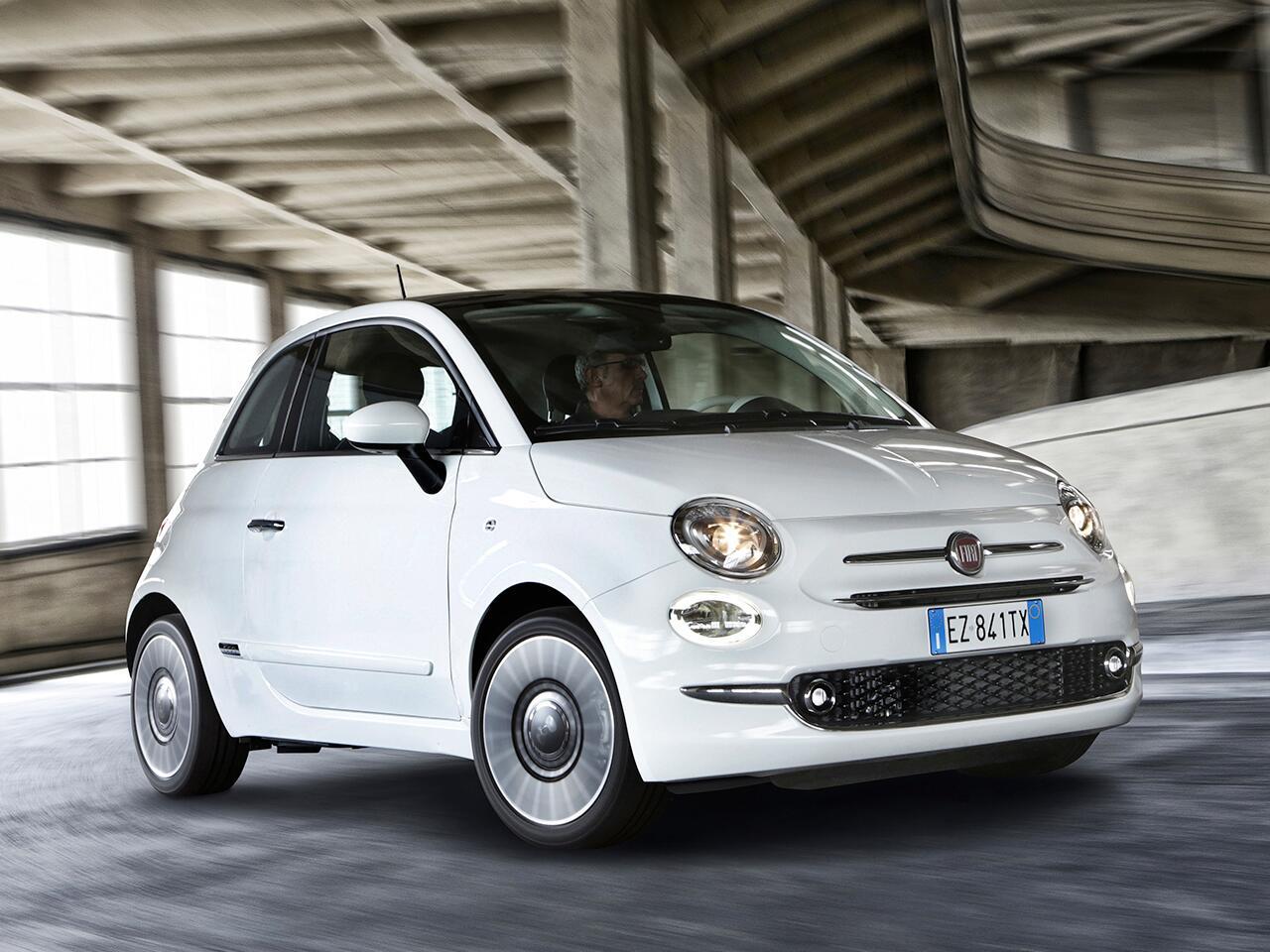 Bild zu 2. Platz Minis: Fiat 500